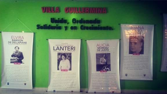 """En Villa Guillermina se expone la Muestra """"Ellas y la lucha por sus derechos"""""""