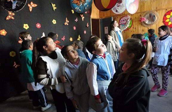 La Muestra de Mandalas Santafesinas llegó a la comunidad de Las Garzas