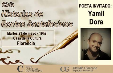 """El ciclo """"Historias de Poetas Santafesinos"""" visitará a la ciudad de Florencia"""