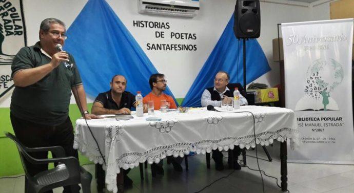 Las Toscas recibió con calidez al ciclo «Historias de Poetas Santafesinos»