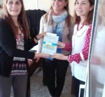 En el Día del Libro, Florencia hizo entrega de libros a entidades escolares