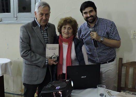 """Se presentó el libro """"Recuerdos del Templo de Villa Guillermina"""""""