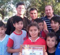 Alejandra: Nicol Zeballos fue la ganadora en la instancia local del «Torneo Provincial de Bolitas»