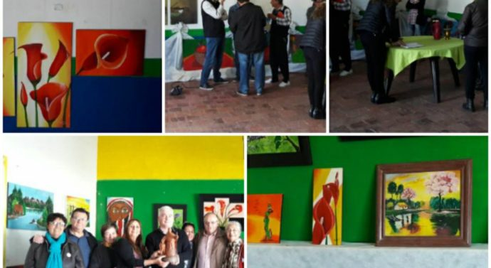 """En la ciudad de Florencia se inauguró """"Forma y Color"""" con múltiples artistas del norte santafesinos"""