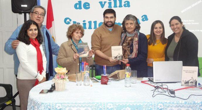 """El libro """"Recuerdos del Templo de Villa Guillermina"""" se presentó en Las Toscas"""