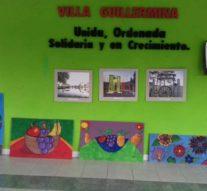 """El pueblo histórico de Villa Guillermina se pintó de """"Formas y Colores"""""""