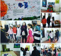 """La Muestra """"Forma y Color"""" llegó a la localidad de San Antonio de Obligado"""