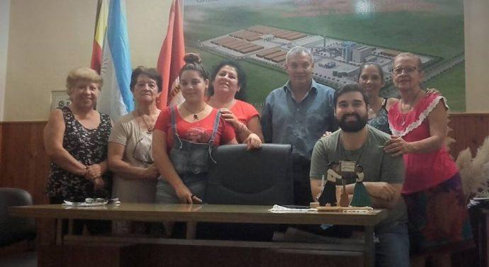 Asociaciónde Rescate de la Cultura Forestal se reunió con el Presidente Comunal Roque Chávez