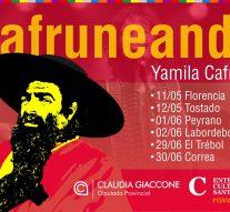 """Yamilia Cafrune recorrerá nuestra provincia junto a su obra """"Cafruneando"""""""