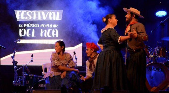 Se puso en marcha el 48° Festival de Música Popular del NEA en Reconquista