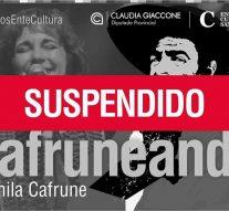 Se posterga la presentación de Yamila Cafrune en Florencia y Tostado