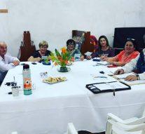Integrantes de la Usina Cultural VII se reunieron en Las Garzas