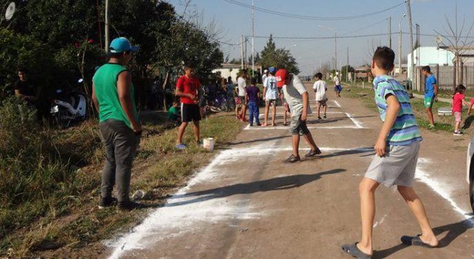 """Exitosa competencia local del """"Torneo Provincial de Bolitas en Las Toscas"""