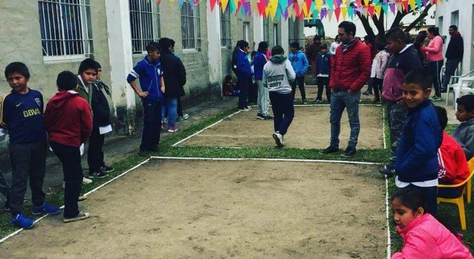 La Biblioteca Popular «15 de junio» de Las Garzas organizó el Torneo de Bolitas