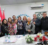 Yamila Cafrune compartió un cálido encuentro en la ciudad de Las Toscas