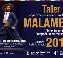 El Campeón Provincial de Malambo, Julian Dorthe llega a Reconquista