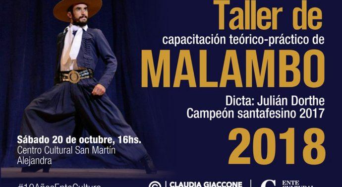 El Campeón Provincial de Malambo llega a la comunidad de Alejandra