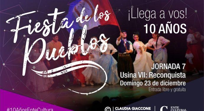 """Llega a Reconquista """"La Fiesta de los Pueblos"""""""