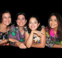 Cuatro cantoras con sus historias vinculadas con la poética del río y su gente