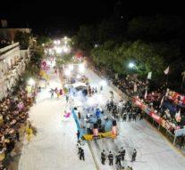 Espectaculares debut de los Carnavales 2020 en Reconquista