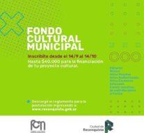 Reconquista: Fondo Cultural Municipal