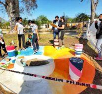 Malabrigo: Alumnos del Secundario se expresan a través del Arte