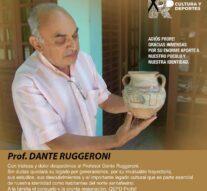 Triste pérdida del Profesor Dante Ruggeroni